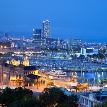 Superyachts in Spain's Truly Global City: Barcelona