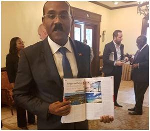 The Prime Minister of Antigua & Barbuda is reading CBI!