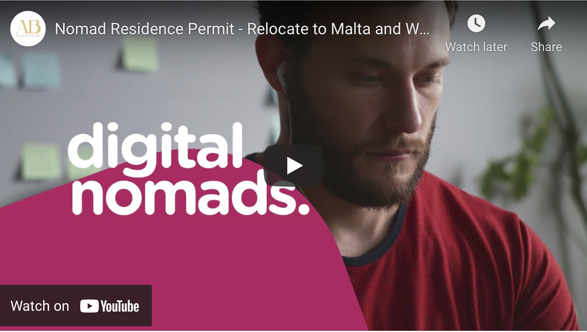 Relocate to Malta with the latest Nomad Residence Permit